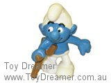 Smurf on Crutches