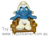 Smurf in Wheelchair