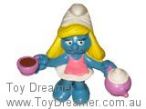 Smurfette with Teapot and Cup