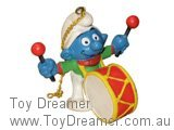Christmas Smurf with Drum
