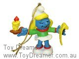 Smurfette Singing Christmas Carols