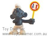Promo Traffic Smurf: Two-way Sign