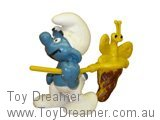 Butterfly Catcher Super Smurf (Boxed)