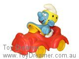 Red Car Super Smurf (Boxed)
