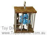 Prisoner Smurf in Cage