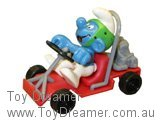 Go-Cart Smurf (Boxed)