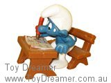 School Desk Smurf (Boxed)