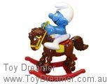 Smurf on Rocking Horse (Boxed)