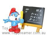 Papa Super Smurf & Blackboard (Boxed)