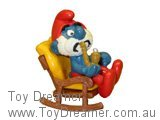 Papa Smurf in Rocking Chair Super Smurf (Boxed)