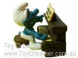 Piano Player Super Smurf (Dark Brown)