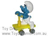 Yellow Scooter Super Smurf (Applause)
