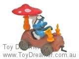 Smurf in Treetrunk Car (Boxed)