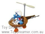 Helicopter Smurf (Boxed)