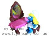 Smurfette at Dressing Table (As New in Pack)