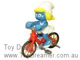 Smurfette on Bicycle (Boxed)