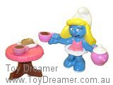 Tea Set Smurfette (Bagged)
