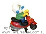 Smurf on Motor Scooter (Boxed)
