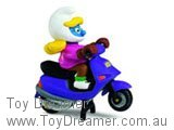 Smurfette on Scooter (Boxed)