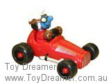 Red Vintage Smurf Car (Boxed)