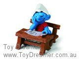 Smurf Sleeping at Desk (Boxed)