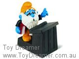 Granpa Smurf at Lectern (New in Bag)