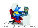Smurf at Laptop Computer (Boxed)