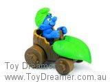 Smurf in Leaf Car (Boxed)