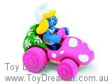 Smurfette in Pink Car 2 (Boxed)