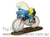 Cyclist Super Smurf (Boxed)