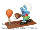 Boxer Smurf - Brown Board (Not Boxed)