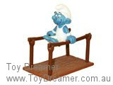 Bars Gymnast Smurf (Boxed)